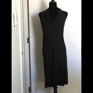 Anne Taylor Loft Sleeveless Cowl Neck Dress